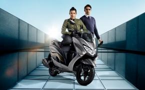 Suzuki Showcases Burgman Street 125 Scooter- Auto Expo 2018