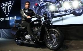 Triumph Launches Bonneville Speedmaster In India