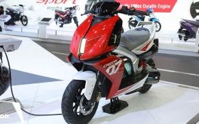 TVS Creon E-Scooter Concept Unveiled- Auto Expo 2018