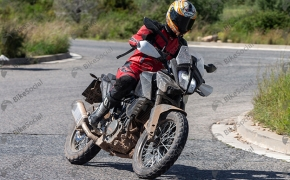 KTM Adventure 390 Spotted Testing