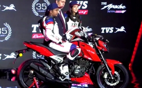 New TVS Apache RTR 160 4V Launched