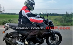 Yamaha FZ Version 3.0 Spied