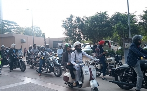 2018 Distinguished Gentleman's Ride: Delhi Chapter takes place