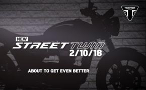 2019 Triumph Street Twin Coming At Intermot