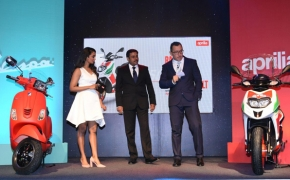 Piaggio Launches 2019 Range Of Aprilia SR150