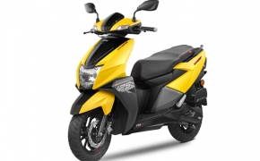 TVS Introduces NTorq Scooter In Sri-Lanka