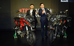 Benelli India Launches Adventure Touring Motorcycle- TRK 502