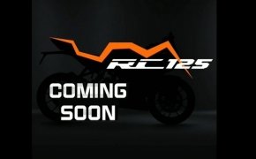 KTM RC 125 Teased Before Launch