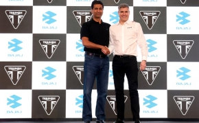 Triumph, Bajaj Global Partnership Begins