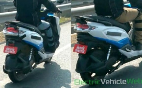 Suzuki Burgman Electric Scooter Spied