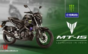 Yamaha Launches MT-15 Monster Energy MotoGP Edition