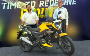 TVS launches its all new 125cc motorcycle RAIDER