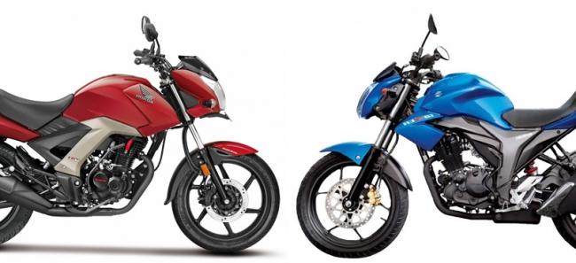 Comparative Review New Honda Unicorn 160 Vs Suzuki Gixxer