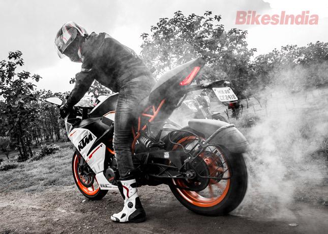 ktm duke 390 test ride review » bikesmedia.in
