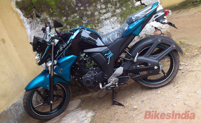 Yamaha fz s v2 0 reviews first rides road tests test for Yamaha fz back tyre price