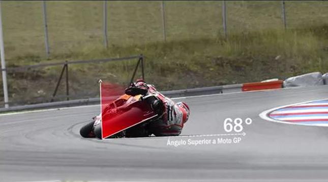 moto gp 68 degres