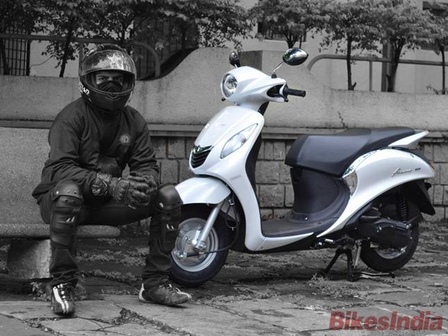 Yamaha Fascino Test Ride Review » BikesMedia in