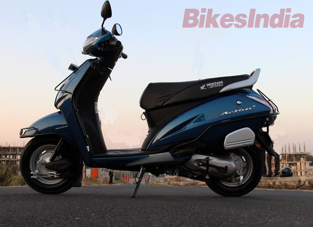New 2015 Honda Activa 3g Test Ride Review