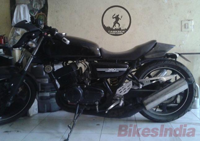 Yamaha RD350 Reincarnated- Darkspawn » BikesMedia in