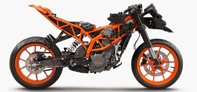 now the reason to actually talk about it is because nowadays in the world of modern motorcycling this is by far the most used and the most preferred frame - Motorcycle Frame