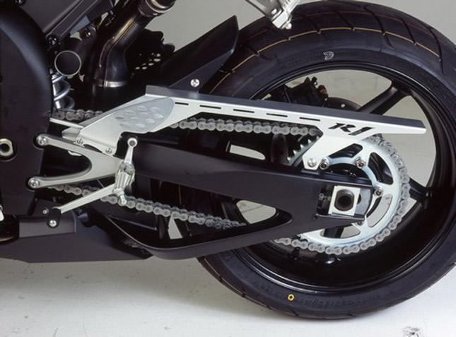 Yamaha R Chain Cleaning