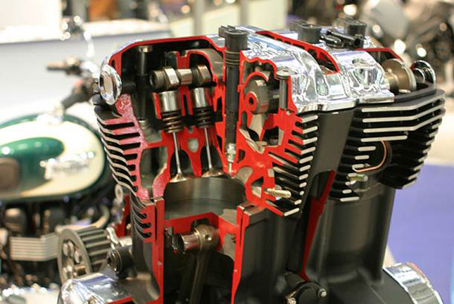 camshaft and its working in motorcycle engine explained. Black Bedroom Furniture Sets. Home Design Ideas