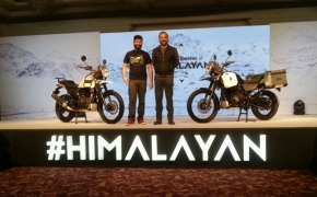 Royal Enfield Himalayan Launched