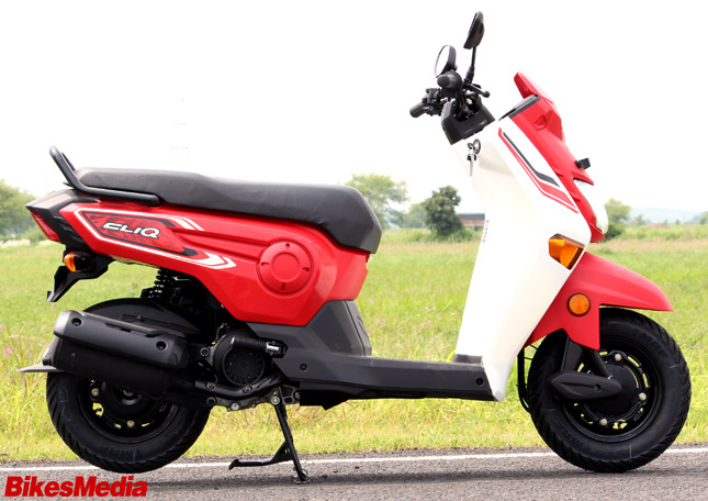 New Honda Cliq First Ride Review Bikesmediain