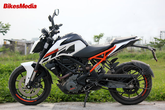 Ktm Duke 250 Test Ride Review 187 Bikesmedia In