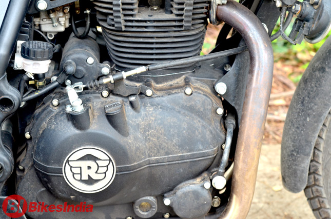 Royal Enfield Himalayan Test Ride Review Bikesmediain