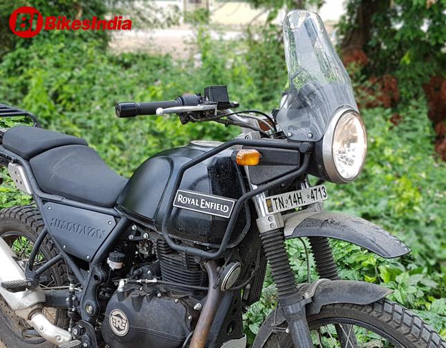 Royal Enfield Himalayan Test Ride Review Bikesmediain