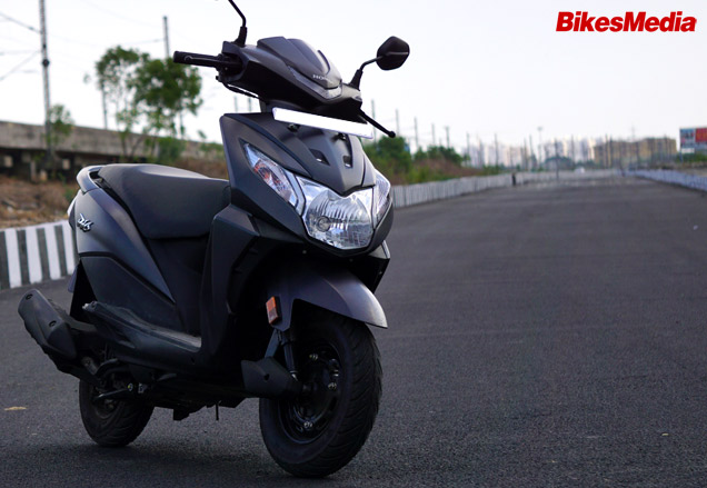 Honda Dio 2017 First Ride Review Bikesmediain