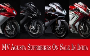 List Of Superbikes On Sale In India- MV Agusta