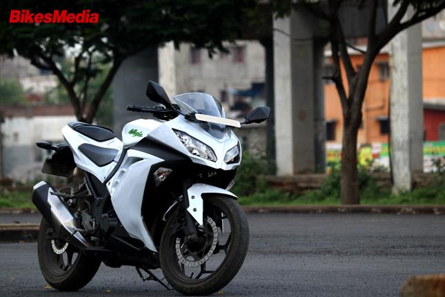 Kawasaki Ninja 300 Maintenance Motorrad Bild Idee