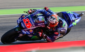 2017 Aragon GP Qualifying Report- <br /> Maverick Viñales takes pole as Marquez crashes out
