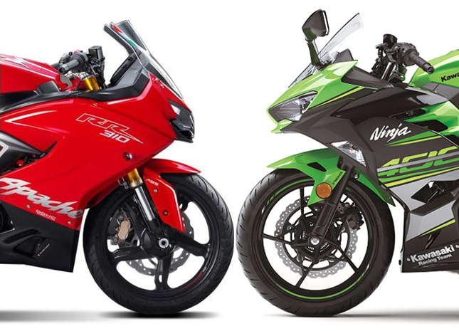 Apache Rr310 Vs Kawasaki Ninja 400 Comparison Shootout Spec