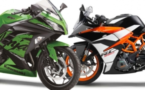KTM RC390 Vs Kawasaki Ninja 300- Comparo