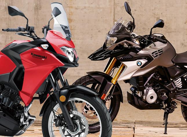 Bmw G310 Gs Vs Kawasaki Versys X 300 Comparison Shootout