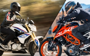 BMW G310 R Vs KTM DUKE 390- Comparo