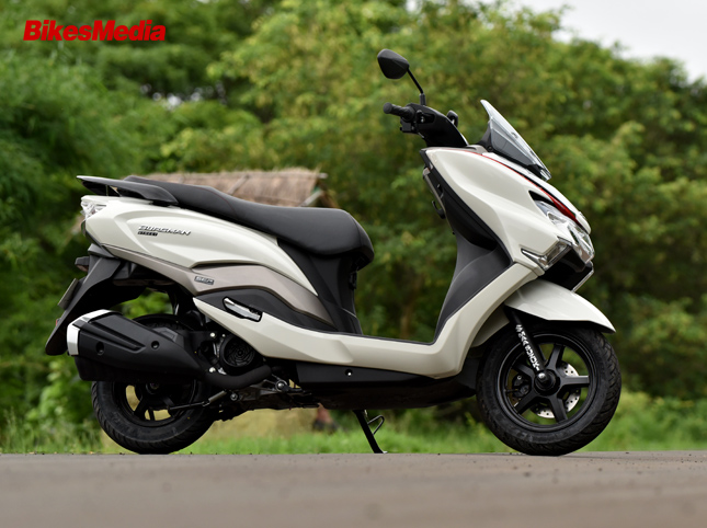 Suzuki Burgman Street 125 First Ride Review 187 Bikesmedia In