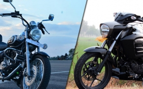 Suzuki Intruder Vs Bajaj Avenger 220 Cruise- Comparo