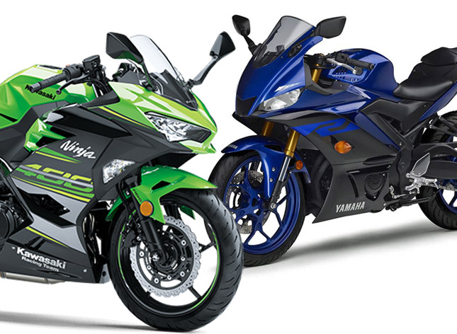 2019 Yamaha Yzf R3 Vs Kawasaki Ninja 400 Comparison Shootout Spec