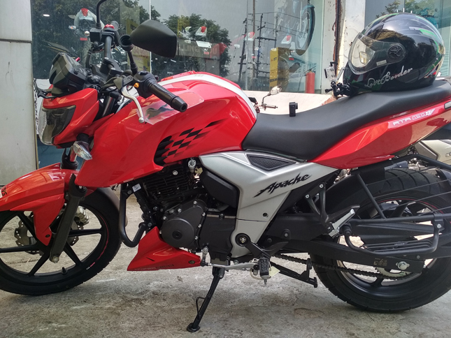 TVS Apache RTR 160 4V First Ride Review » BikesMedia in