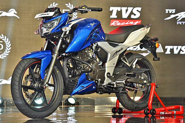 Tvs Apache Rtr 160 4v Abs The Best 160cc Bike Bikesmedia In